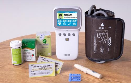 希科血压血糖一体机,监测身体5项指标